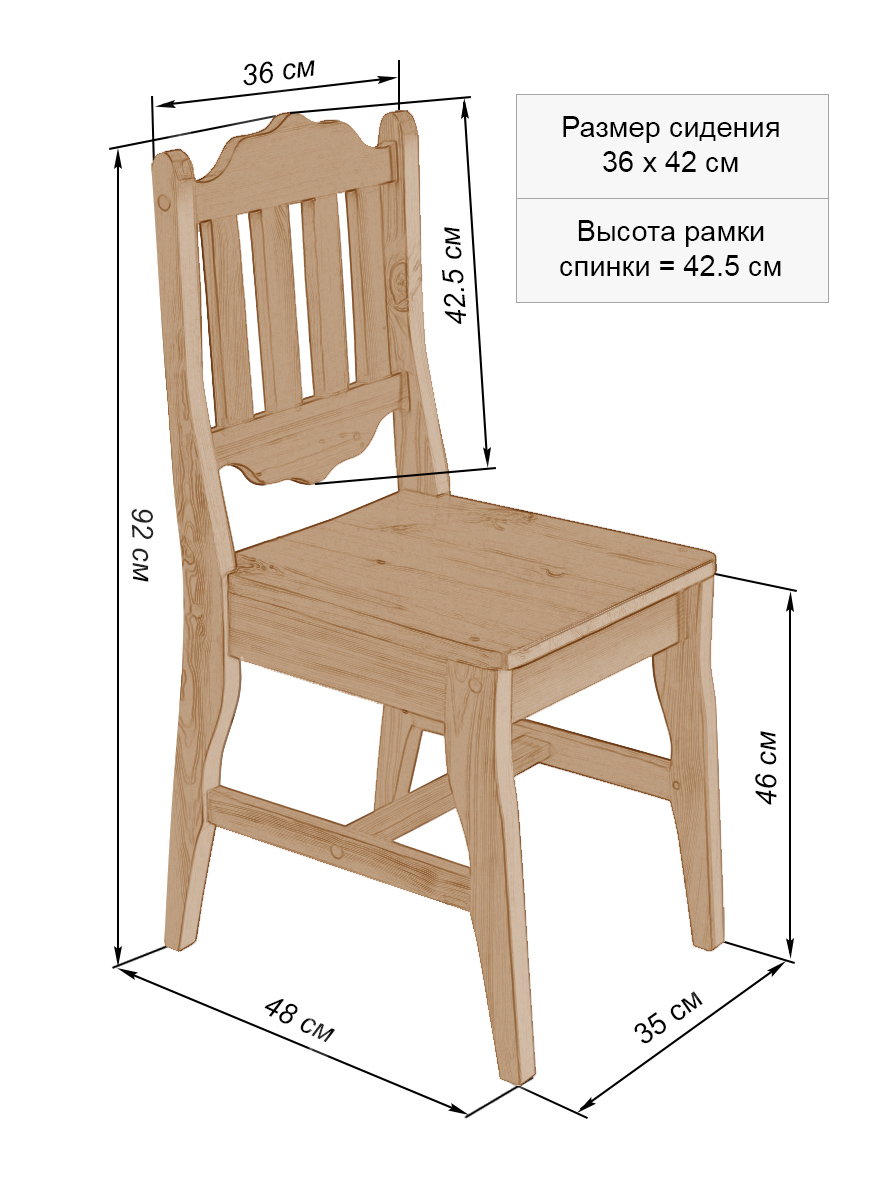 Чертеж стула для секса 1 фотография