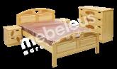 Кровать Галант (сосна)