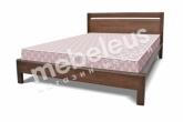 Кровать Шампань из дуба с матрасом