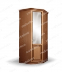 Шкаф Дарина 1-створчатый угловой из сосны