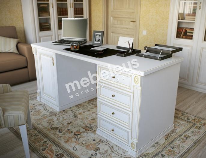 Двухтумбовый письменный стол из серии
