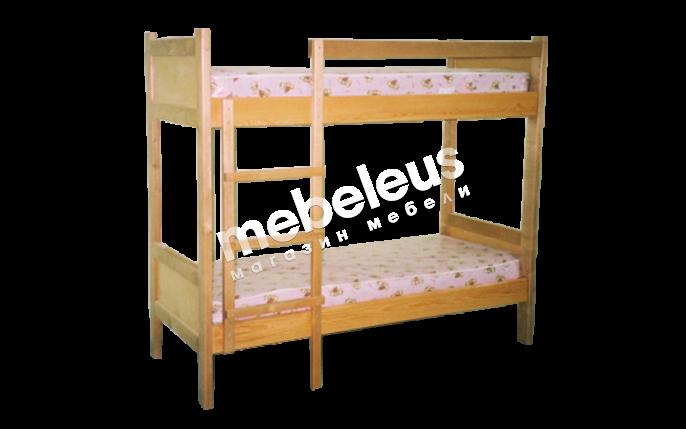 Кровать двухъярусная Омаль 3 с матрасом