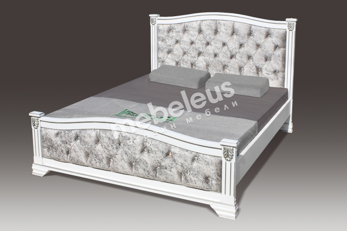 Кровать Ницца со стразами