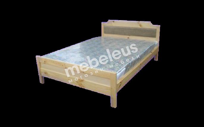 Кровать Дачница №3 с матрасом