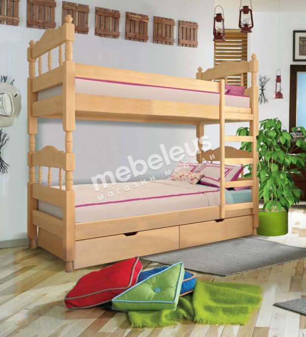 Кровать двухъярусная Лукка