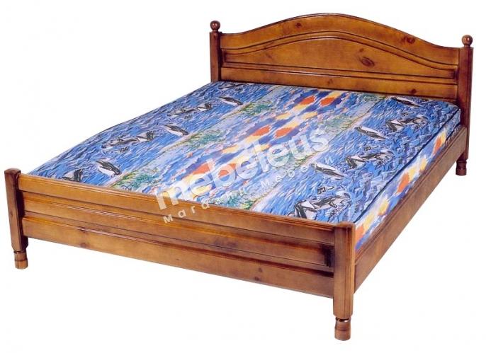 Кровать Мимоза (филенка) с матрасом