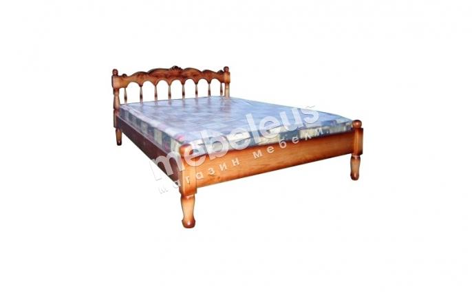 Кровать Подсолнух (резьба)