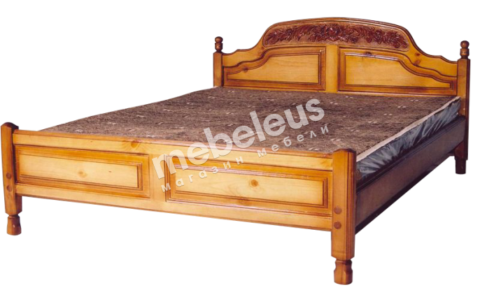 Кровать Адмирал (резьба)