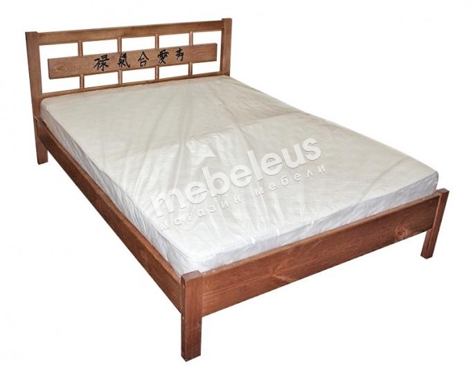 Кровать Александрия с орнаментом с матрасом