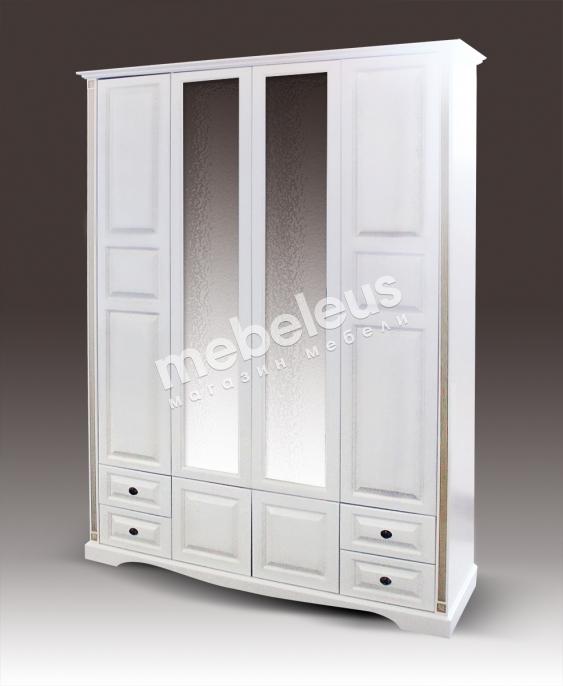 Шкаф 4-х дверный из серии
