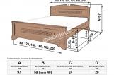 Кровать Неаполь с матрасом
