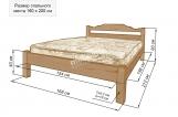 Кровать Версаль с матрасом