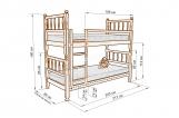Кровать Лилль двухъярусная