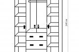 Шкаф из серии