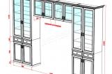 Шкаф с нишей Галисия 2