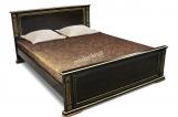 Кровать Шартр из дуба с матрасом