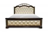 Кровать Нант с мягкой вставкой с матрасом