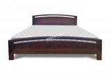 Кровать Лион из дуба с матрасом