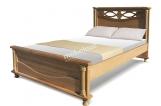 Кровать Торанто из березы с матрасом