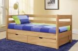 Кровать Каркасон с ящиками с матрасом