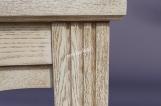 Кровать Колизей из дуба с матрасом