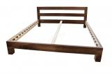 Кровать Бормио из дуба с матрасом