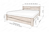 Кровать Сиена с матрасом