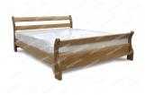 Кровать Алия из дуба с матрасом