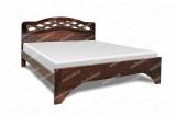 Кровать Труа из березы с матрасом
