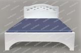 Кровать Труа из березы